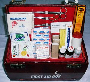 First Aid Kitbox With Medicine Kashmirtent House