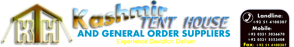 Kashmirtent House & General Order Supplier